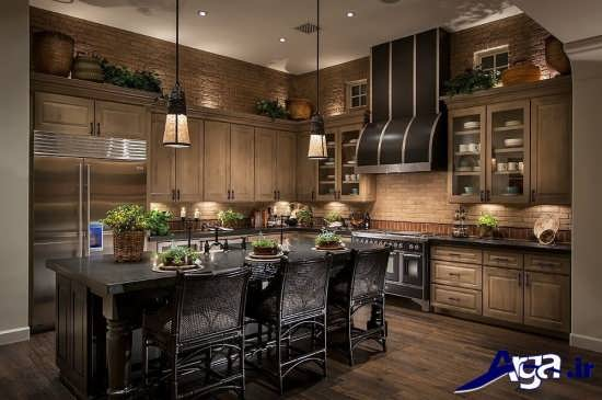 دکوراسیون داخلی آشپزخانه های مدرن