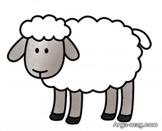 نقاشی و رنگ آمیزی گوسفند