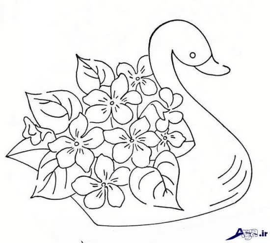 طرح های زیبا برای گلدوزی