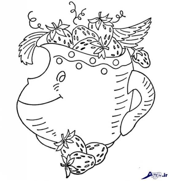 طرح زیبا برای گلدوزی