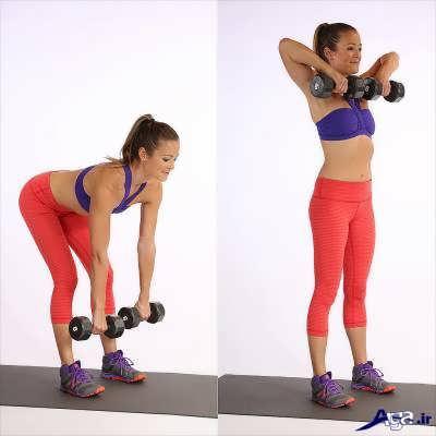 تمرین و ورزش برای لاغری بازو