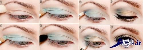 زیباترین نمونه های مدل سایه چشم