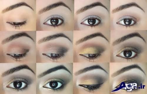 آموزش سایه چشم به صورت مرحله به مرحله