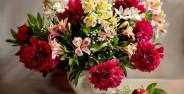 تزیین گل طبیعی