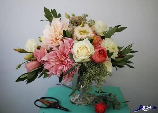 تزیینات گل طبیعی