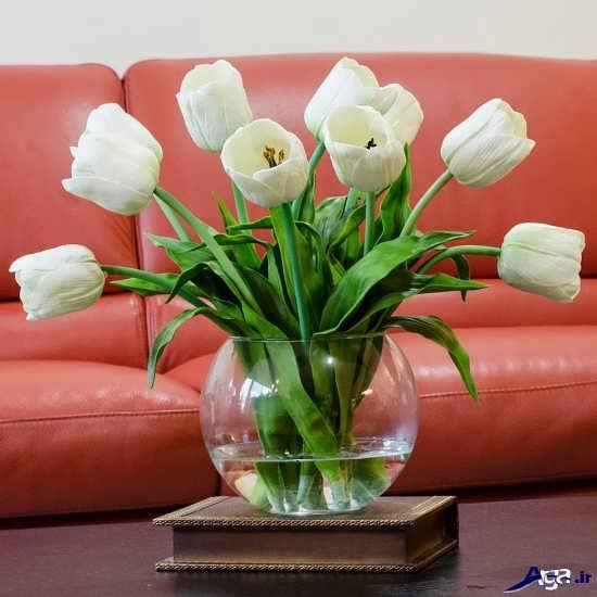 تزیین گل رز در گلدان