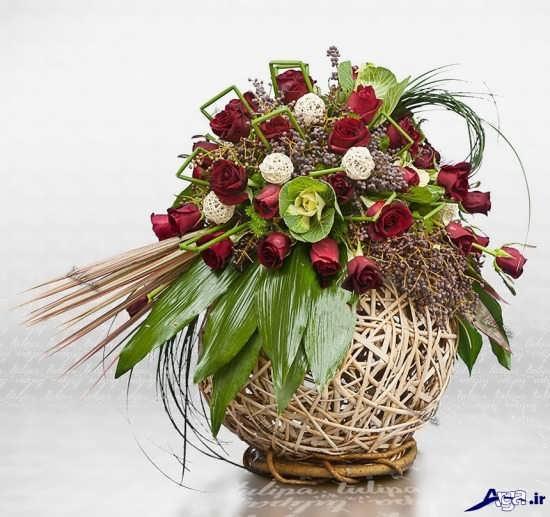 تزیینا تزیبای گل