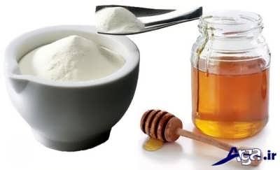 ماسک بی نظیر شیرخشک و عسل برای درمان لکه های صورت
