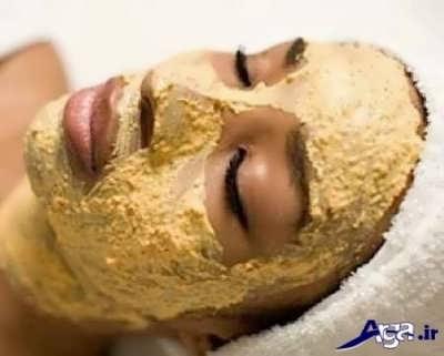 ماسک سیب زمینی و گلاب برای درمان لک صورت