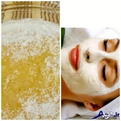 ماسک شیرخشک و عسل