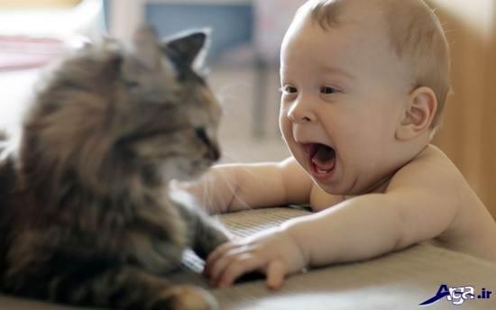 عکس بچه خنده دار و جالب