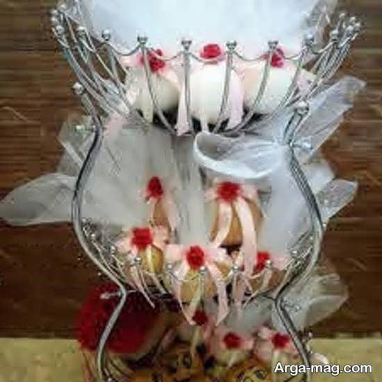 خلاقیت تزیین سیب زمینی و پیاز عروس