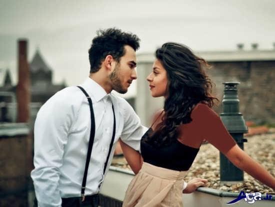 ژست عکس های دو نفره زیبا و عاشقانه