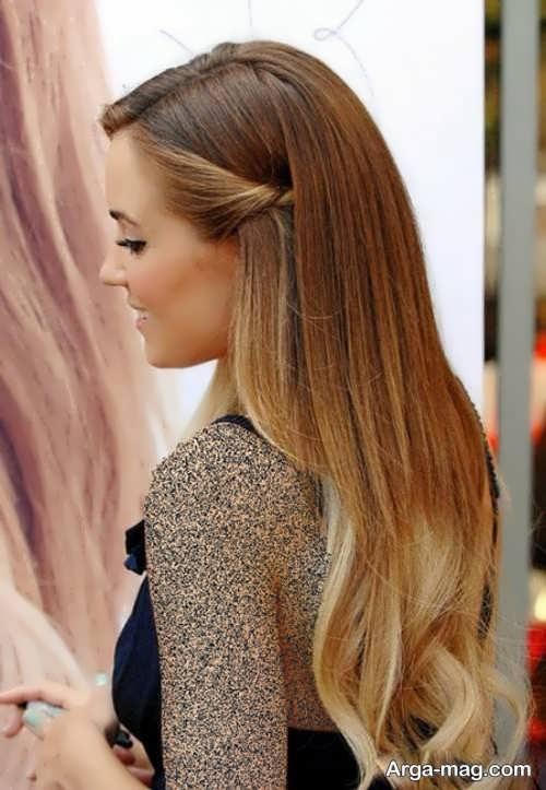 مدل مو باز دخترانه شیک