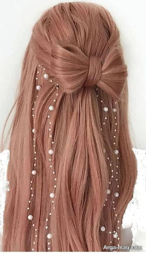 انواع مدل مو باز دخترانه
