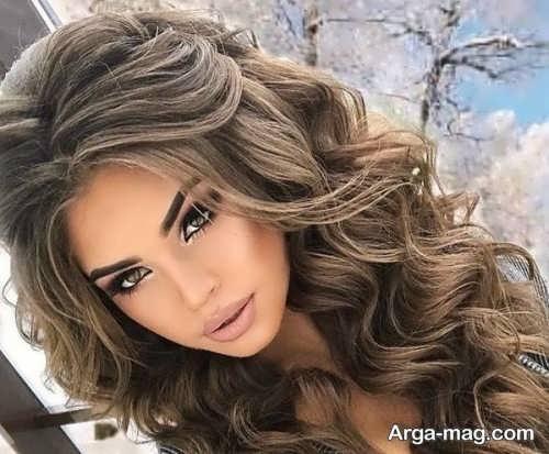 مدل مو باز دخترانه جذاب