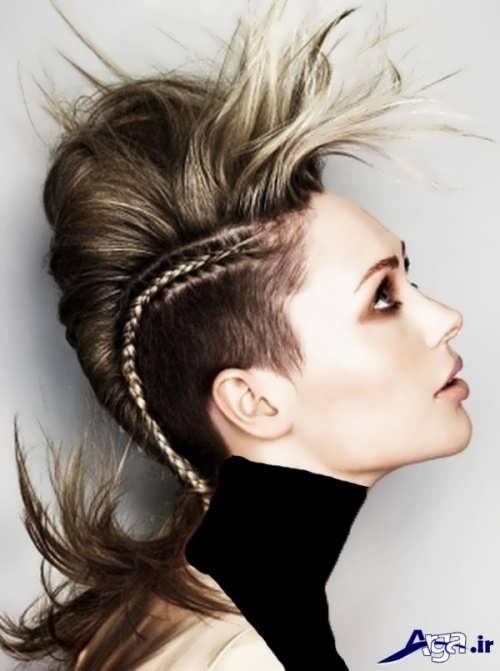 مدل موی تیفوسی بلند