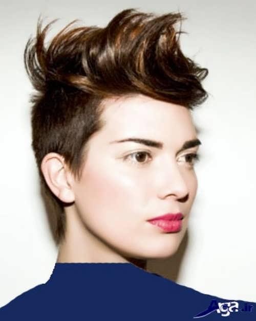 جدیدترین مدل موهای کوتاه زنانه