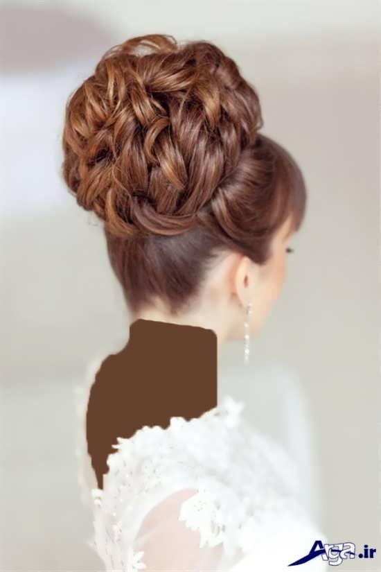 مدل موی زیبا و متفاوت عروس