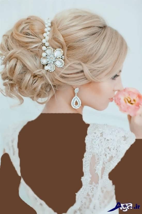 مدل موهای زیبا و متفاوت برای عروس