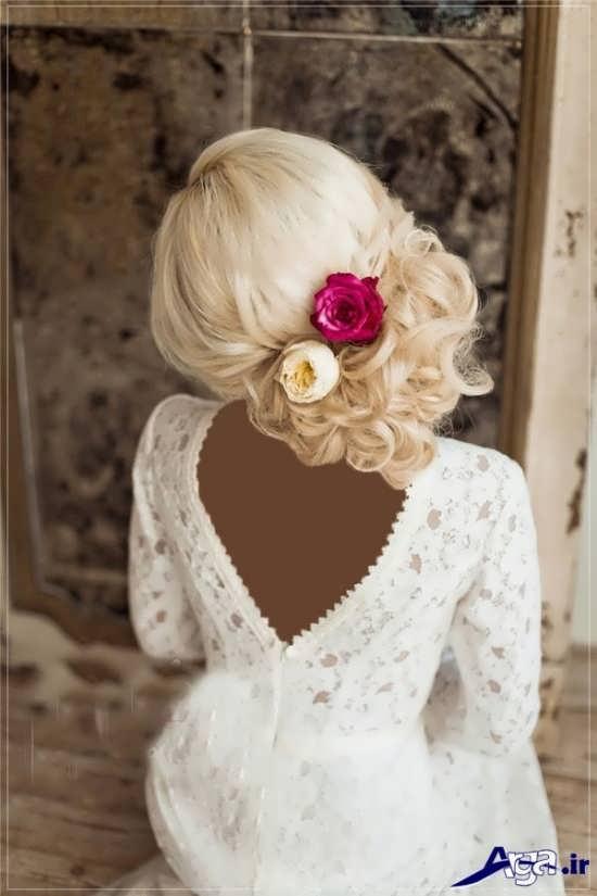 زیباترین نمونه مدل مو بسته عروس