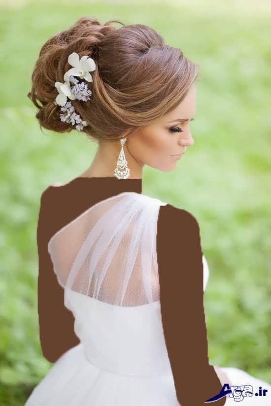 مدل مو شیک و زیبا برای عروس