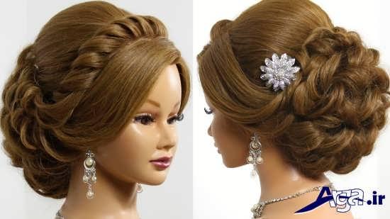 مدل موی بسته عروس با جدیدترین شینیون های روز