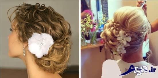 مدل موی بسته عروس زیبا
