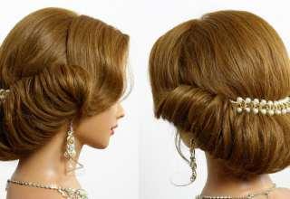 مدل موی بسته عروس زیبا و شیک