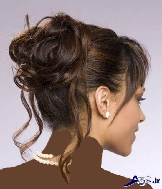 مدل موی زیبا و ساده عروس
