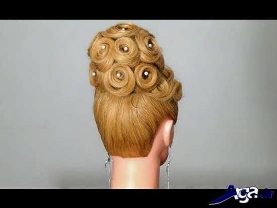 مدل موی جذاب عروس
