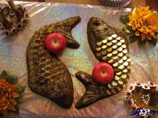 تزیین حنا با قالب ماهی