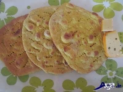 طرز تهیه نان خانگی در فر