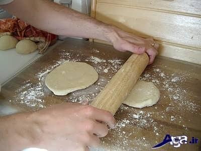 مراحل پخت نان خانگی