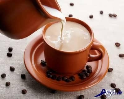 طرز تهیه شیر قهوه خوشمزه در خانه