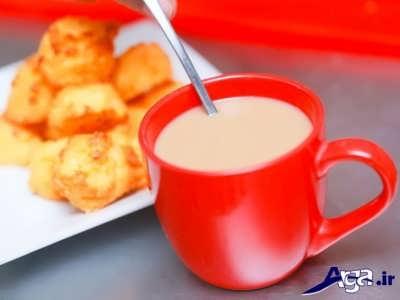 شیر قهوه خوشمزه
