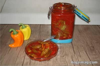 دستور تهیه ترشی بامیه با گوجه فرنگی