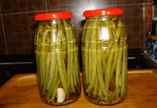 طرز تهیه ترشی لوبیا سبز در منزل