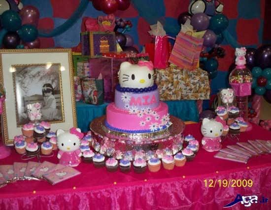 تزیین جشن تولد کودک دختر