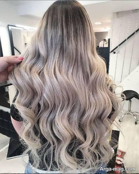 رنگ موهای جذاب روشن