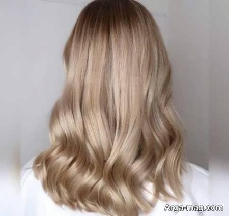 رنگ موهای کرم دودی روشن