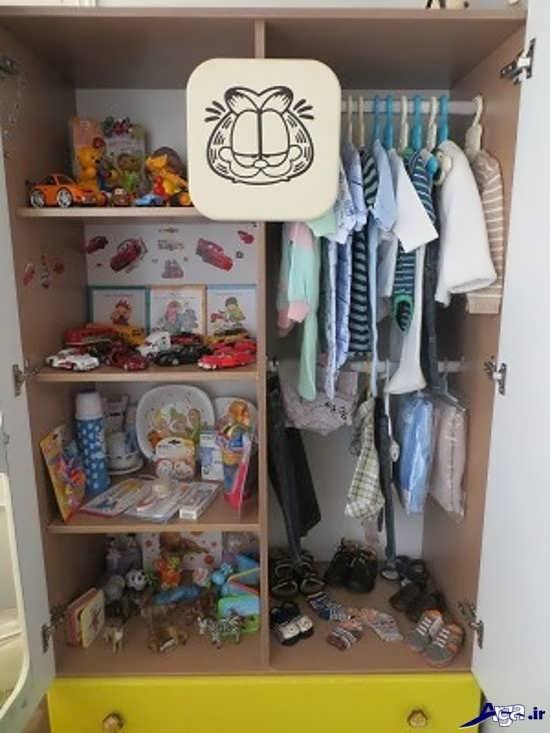 تزیین کمد نوزاد برای سیسمونی