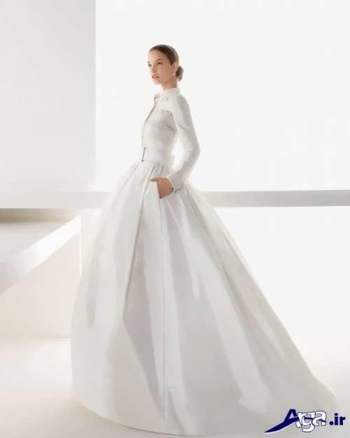 مدل لباس عروس پوشیده و با حجاب
