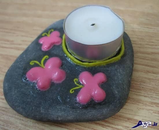 آموزش ساخت انواع جا شمعی
