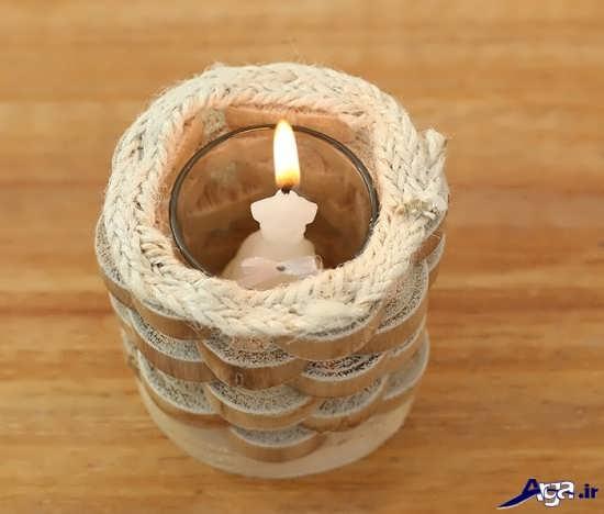عکس جا شمعی دست ساز