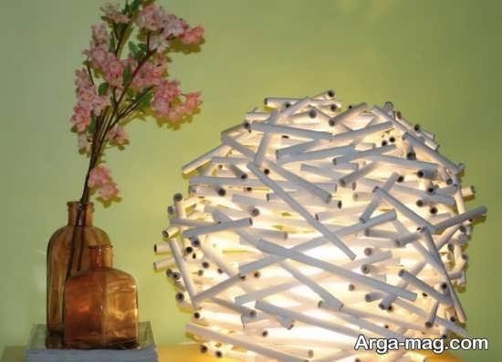 ساخت چراغ خواب هنرمندانه
