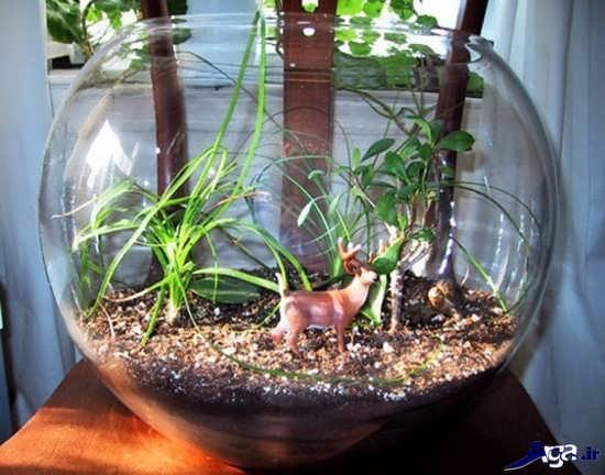 ساخت باغ شیشه ایی در منزل