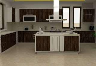 مدل کابینت mdf با طراحی زیبا و مدرن