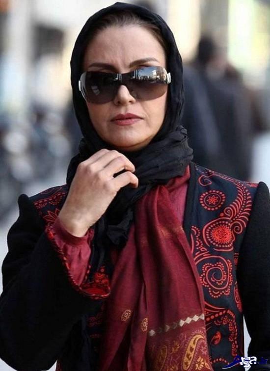 عکس مریلا زارعی با عینک آفتابی