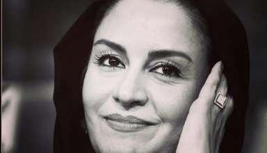 عکس مریلا زارعی با ژست زیبا